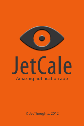 JetCalE application screen